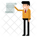 Document Treaty Business Icon