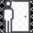 Human Door Walk Icon