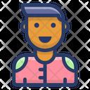 Human Avatar Man Icon