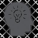 Human Idea Creativity Icon