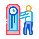Human Delivery Watch Icon