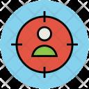 Human Target Focus Icon