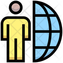 Human Global Commnunication Icon
