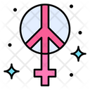 Human Moral Peace Icon