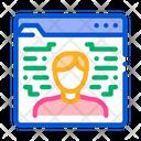 Human Signature Document Icon