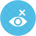 Human Eye Blind Icon