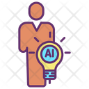 Human Ai Idea Icon
