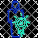 Human Ai Idea Icon