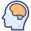 Human Brain Neural System Body Organ Icon