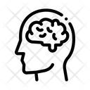 Human Brain Man Icon