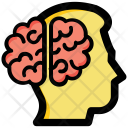 Human Brain Intelligent Icon