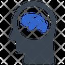 Brain Brainstorming Idea Icon