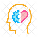 Human Brain Settings Icon
