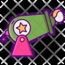 Human Cannonball Circuscannon Cannon Icon