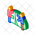 Human Construct Tent Icon