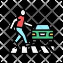 Human Crossing Road Crossing Road Icon