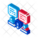 Broadcast Host Communication Icon