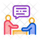 Dialogue Two People Icon