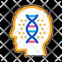 Human Dna Molecule Icon