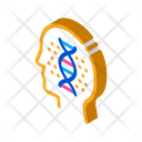 Human Dna Molecule Icon