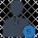 Human Earning Icon