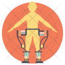 Human Exoskeleton Icon