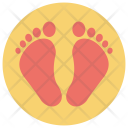 Human Footsteps Icon