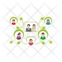 Human Genealogy Family Icon