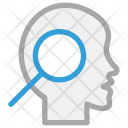 Human Head Brain Icon