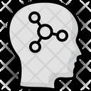 Human Head Human Brain Thinking Icon
