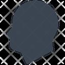 Head Person Profile Icon