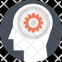 Creative Thinking Brain Icon
