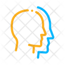 Human Head Copy Icon