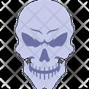 Human Head Skull Icon