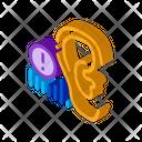 Human Hearing Warning Icon