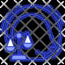 Balance Equilibrium Human Integrity Icon