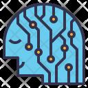 Smart Human Person Icon