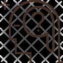 Human Intelligence Head Icon