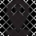 Human Location Icon