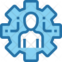 Human Management Optimization Icon