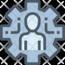 Human Management Optimize Icon