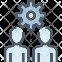 Human Management Resource Icon