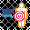 Human Pain Point Icon
