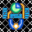 Human Pie Chart Icon