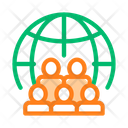 People Planet Earth Icon
