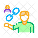 Human Relationship Chain Icon