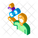 Human Hold Chain Icon