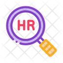 Human Resource Research Icon