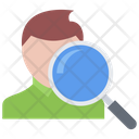Man Search Hunter Icon