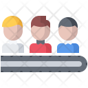 Human Resource Conveyor Icon